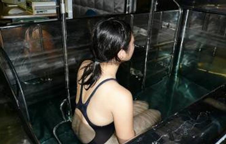 水中体重秤量法による体脂肪計測