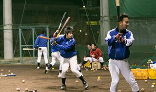 硬式野球部