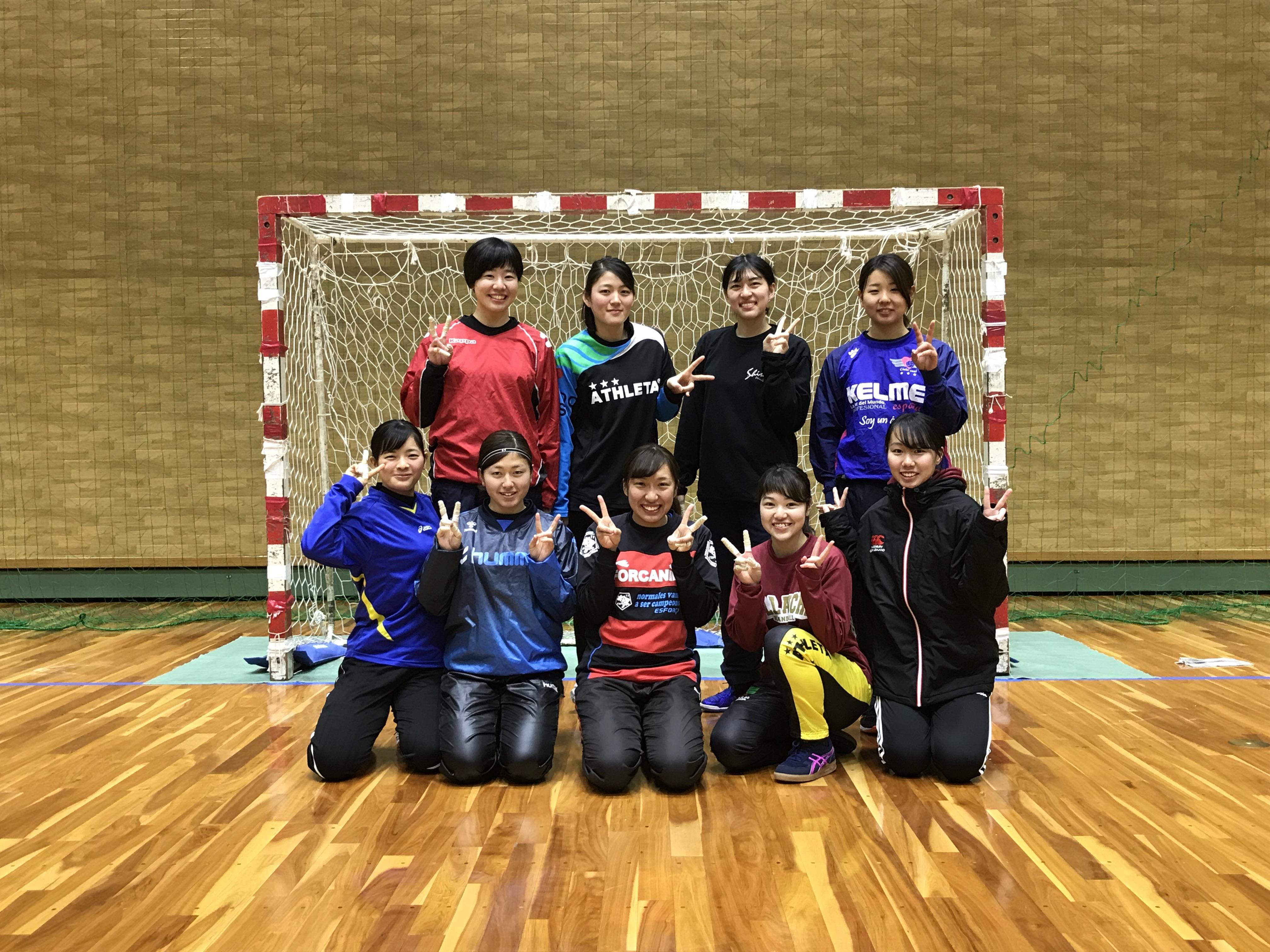 ハンドボール部(女子)
