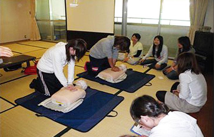 普通救命講習を実施
